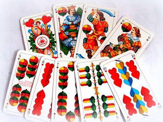 Einladung zum Kartenspielen