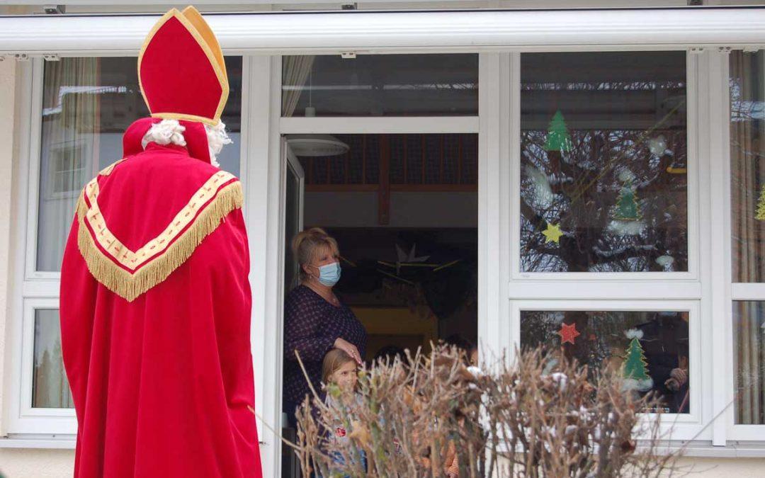 Gewerbeverein Au entsandte den Nikolaus